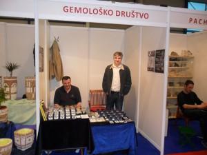 Gemolosko drustvo Srbije na sajamu  kragujevac 2014
